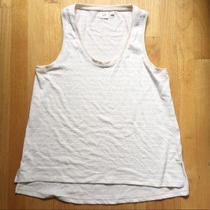5/$25 NEW Gap sleeveless striped top size Medium